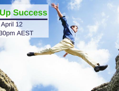 Start Up Success Webinar
