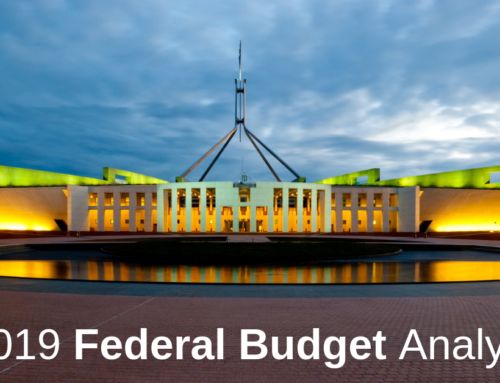 2019 Federal Budget Summary Report