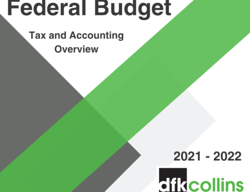 2021 Federal Budget Summary Report